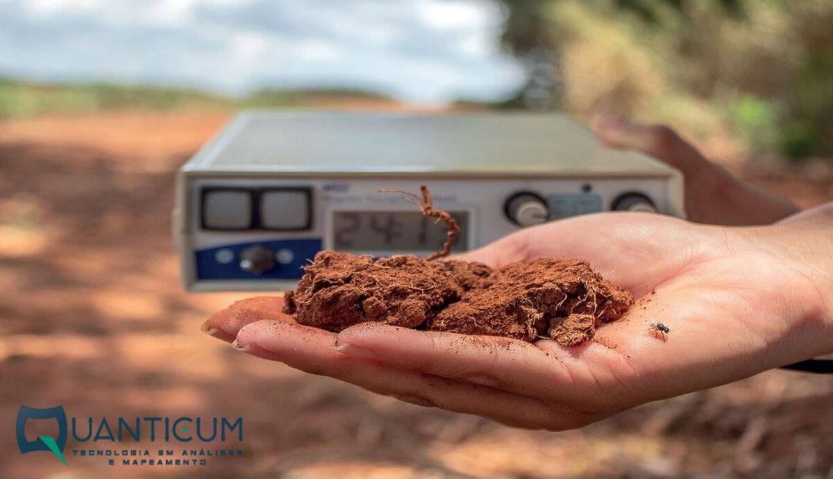 Mapeamento mineral do solo potencializa a agricultura em solos tropicais